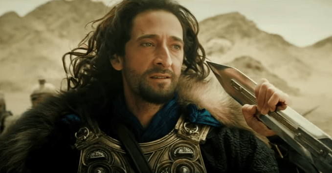DRAGON BLADE brody film