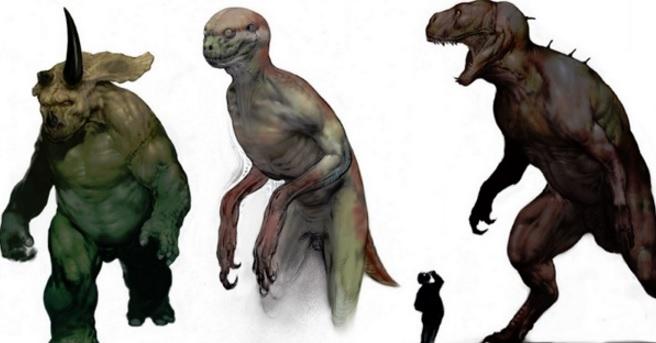 Carlos Huante ci mostra il Raptorman del mai realizzato Jurassic Park 4