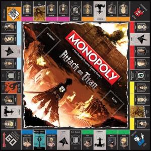 Monopoly di L'attacco dei Giganti 3