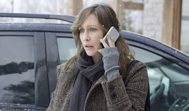 Vera Farmiga incrocia Liam Neeson nel thriller The Commuter