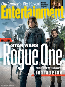 Rogue One A Star Wars Story cover EW