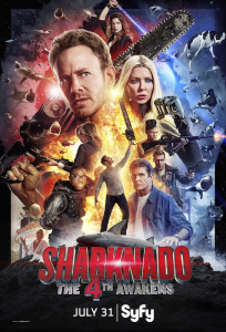Sharknado The 4th Awakens poster