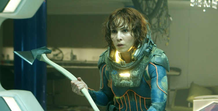 Noomi Rapace dopotutto sarà presente in Alien: Covenant!