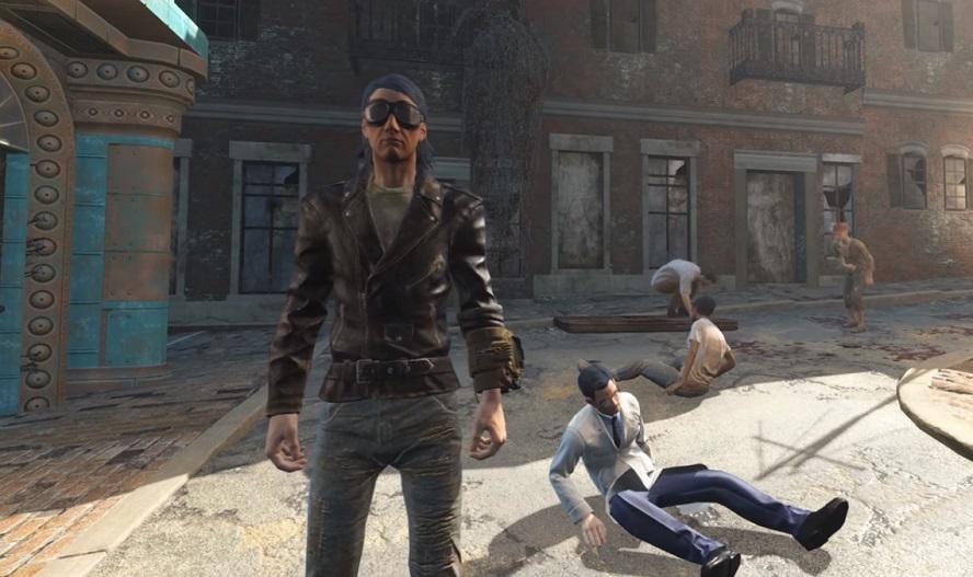 La sequenza di Quicksilver in X-Men: Apocalisse rifatta in Fallout 4