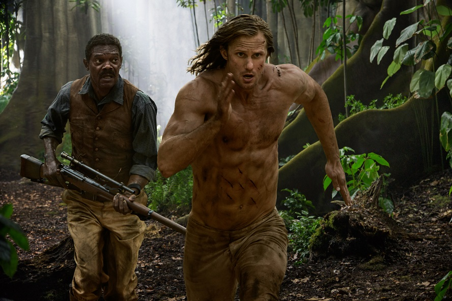 Alexander Skarsgard vola tra le liane nel trailer di The Legend of Tarzan