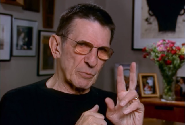 For the Love of Spock nimoy