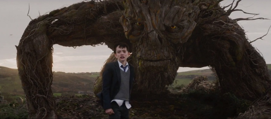 Il nuovo trailer di A Monster Calls evoca una mostruosa creatura molto premurosa