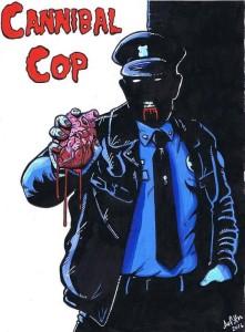 cannibal cop locandina