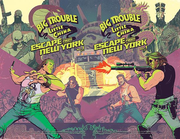 Pronto il crossover a fumetti tra Grosso Guaio a Chinatown e Fuga da New York