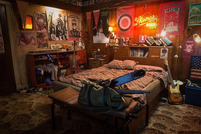 Camera Da Letto Vintage Anni 70 : Ash vs evil dead tour fotografico della camera da letto