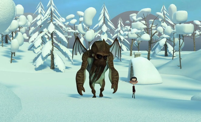 Trailer per il film animato Howard Lovecraft and The Frozen Kingdom