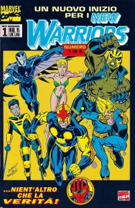 New Warriors fumetto marvel