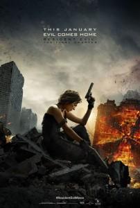 Resident Evil The Final Chapter locandina