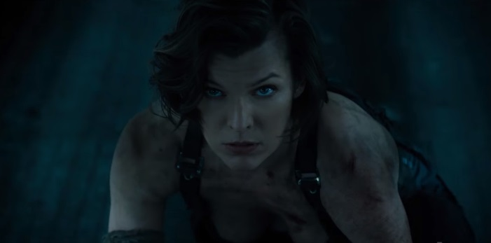 Resident Evil The Final Chapter milla