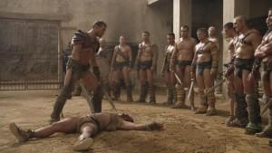 Spartacus serie
