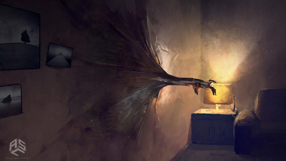 Stranger Things: Mikhail Rakhmatullin ci presenta le sue concept art del Demogorgone