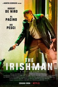 The Irishman (2019) film scorsese poster