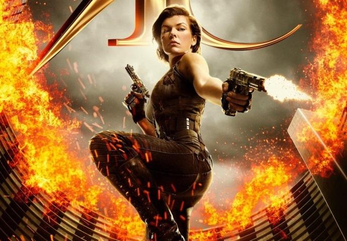 Alice armata e determinata nel poster di Resident Evil: The Final Chapter
