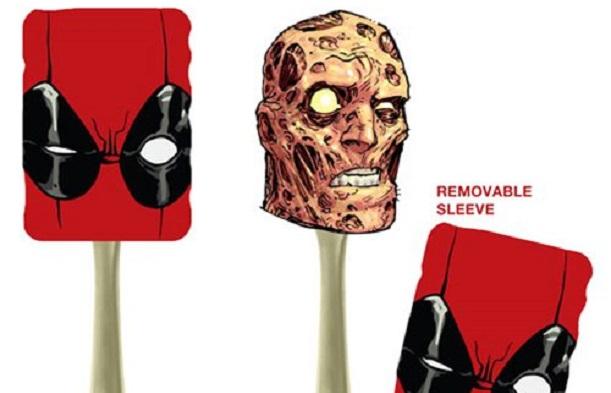 Preparate piatti da mercenario con la spatola da cucina di Deadpool
