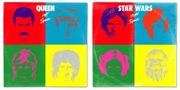 Star Wars: i protagonisti immaginati come copertine di album musicali famosi