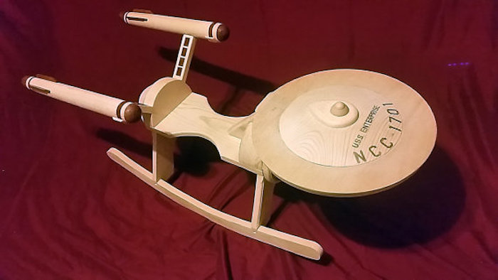 Enterprise a dondolo