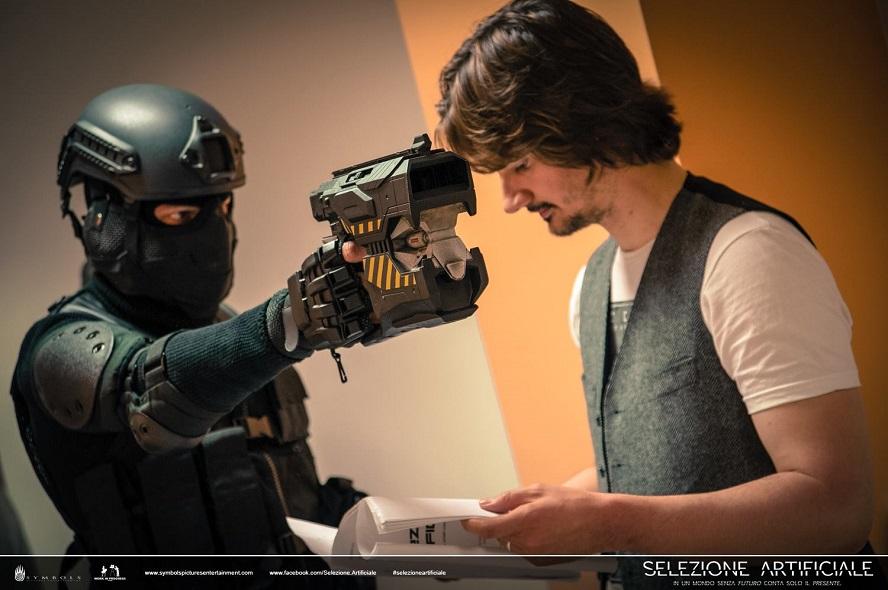 Intervista a Fabio Fossati per il cortometraggio sci-fi Selezione Artificiale