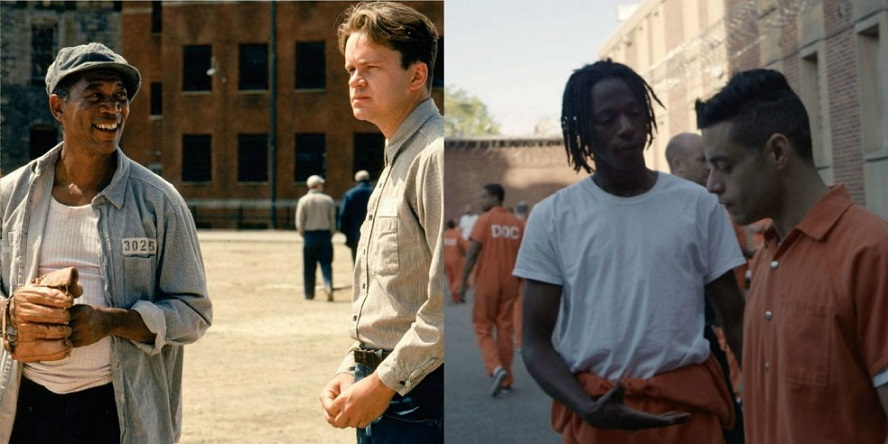 morgan-freeman-as-red-in-shawshank-redemption-and-joey-badass-as-leon-in-mr-robot