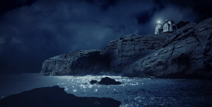 Il racconto incompiuto di E. A. Poe rivive nel trailer di The Lighthouse Keeper