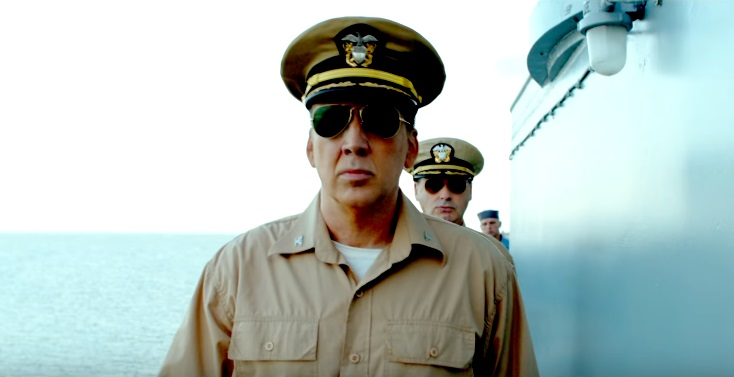 USS Indianapolis - Men of Courage: Nicolas Cage nel full trailer lotta con gli squali