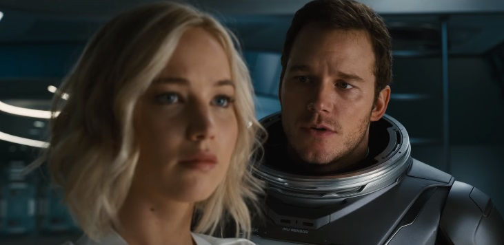 Passengers: trailer italiano e data di uscita per la space story con Jennifer Lawrence e Chris Pratt