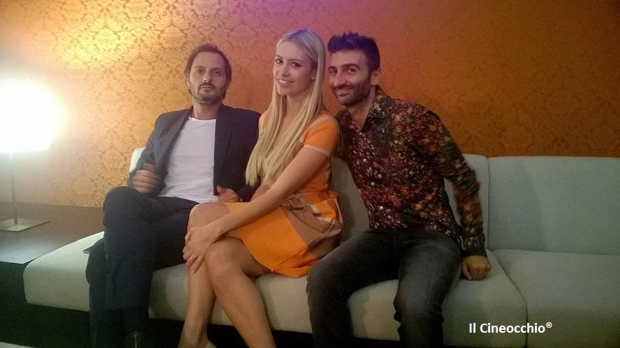 Intervista con Fabio Troiano, Martina Stella e Sandra Milo per Prima di Lunedì