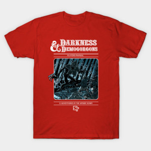 stranger-things-t-shirt demogorgone