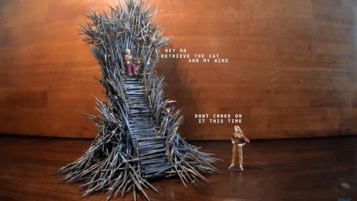 trono di spade originale 2
