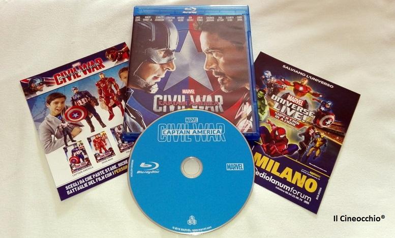 [recensione Blu-Ray] Captain America – Civil War di Joe Russo e Anthony Russo