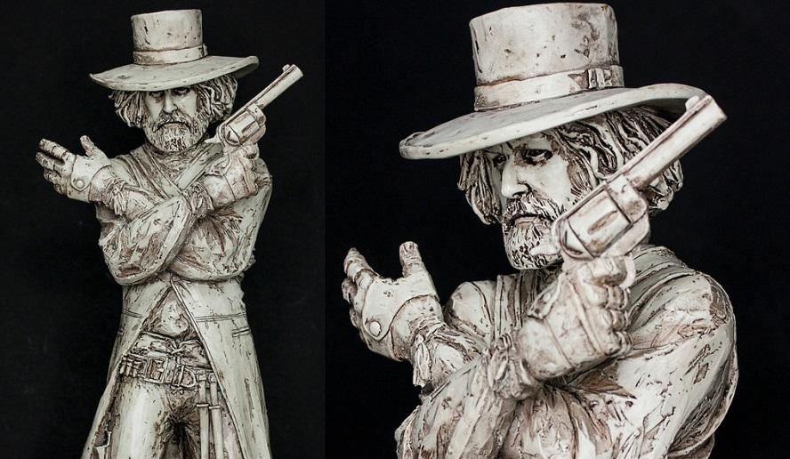 Alejandro Jodorowsky presenta una serie di statue basate sui suoi film cult El Topo e La Montagna Sacra