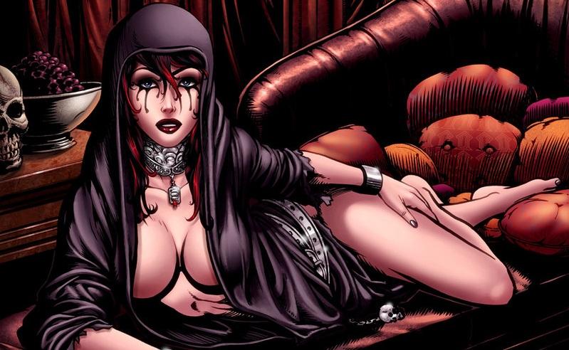 Jack Heller sviluppa un film tratto dai fumetti di Grimm Tales Of Terror