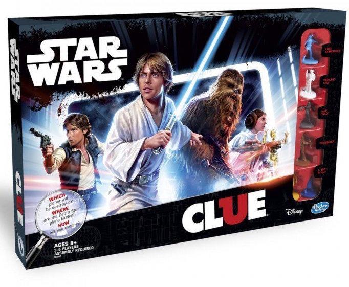 Arriva la versione Cluedo di Star Wars!