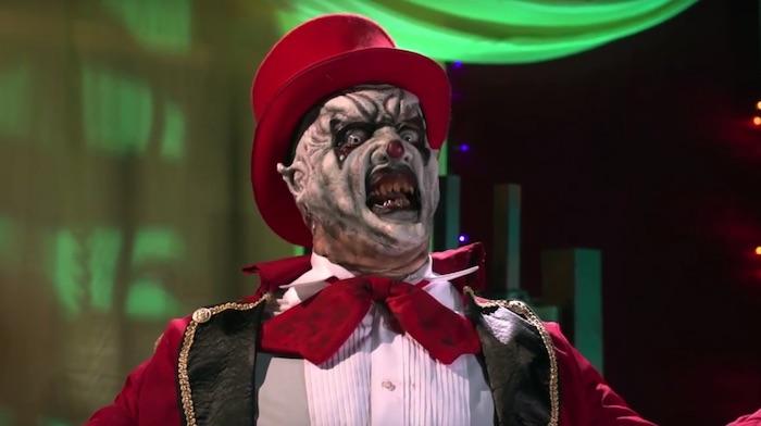 Il demone/clown affronta Beelzebub nel folle trailer di Killjoy's Psycho Circus