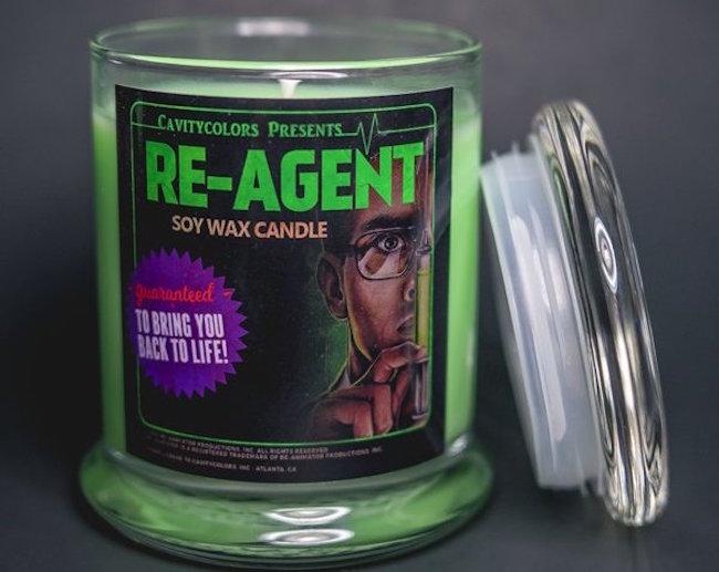 Riportate in vita i morti con la candela Re-Agent ufficiale di Re-Animator