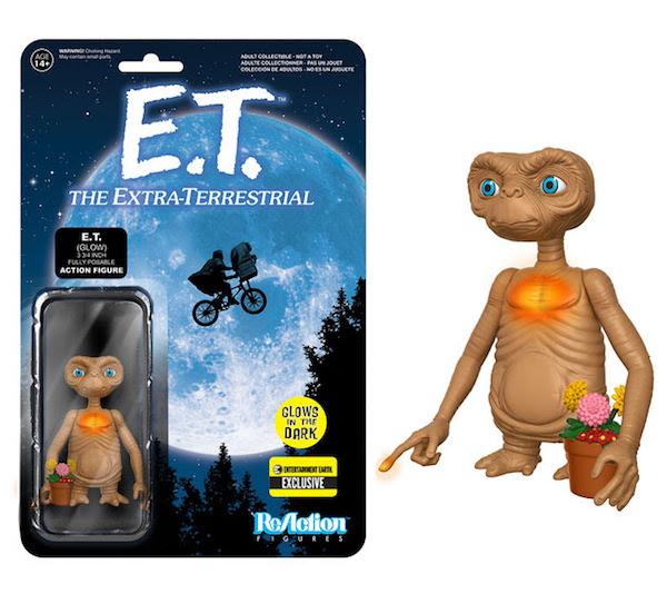 Funko presenta le reaction figures ispirate a E.T. L'extra-terrestre