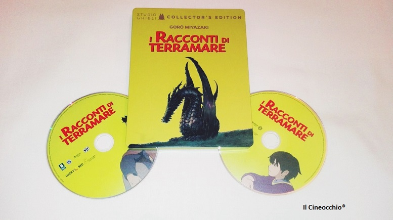 [recensione Blu-Ray] I Racconti di Terramare di Gorō Miyazaki – Steelbook