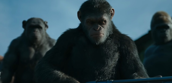Cesare va in guerra nel trailer di War for the Planet of the Apes