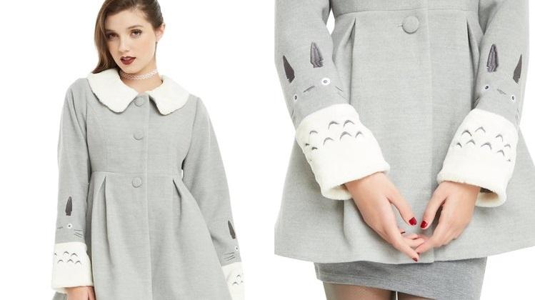 Affrontate l'inverno con il caldo cappotto di Totoro