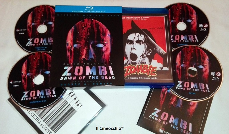 [recensione Blu-Ray] Zombi - Dawn of the Dead di George A. Romero