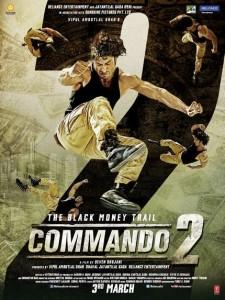 COMMANDO 2 poster