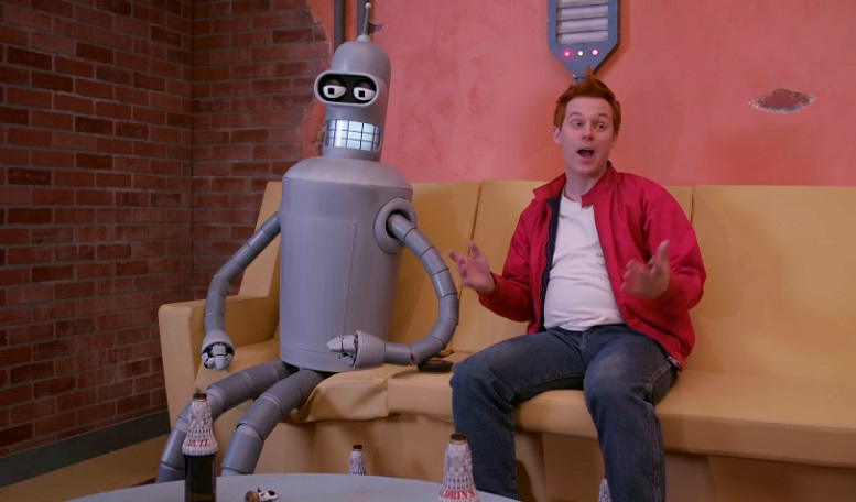 [cortometraggio] Bender e Fry in carne e ossa in Fan-O-Rama, fan film live action di Futurama