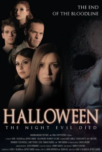 Halloween The Night Evil Died poster