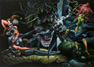 Michaelangelo Creation of Batman simone bianchi
