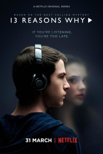 Thirteen Reasons Why poster netflix