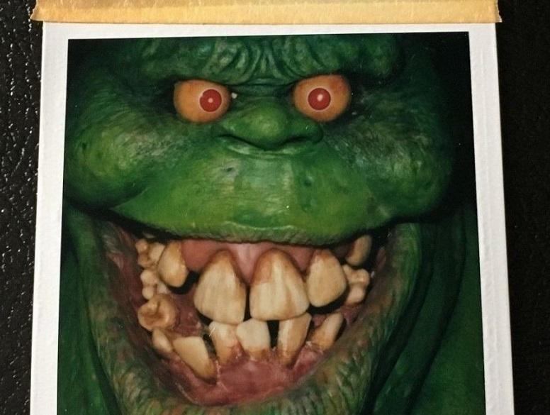 Ghostbusters (1984): all'asta Polaroid e diapositive originali di Slimer e Stay Puft Marshmallow Man